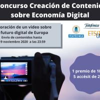 Premios V Concurso elaboración de contenidos sobre Economía Digital