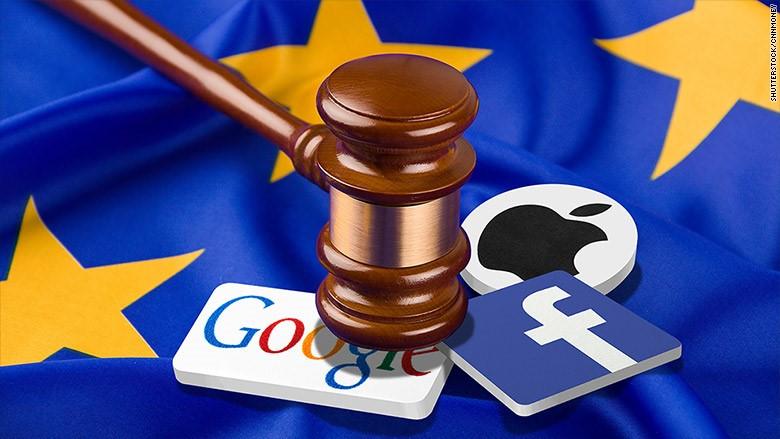 Europe Google FB