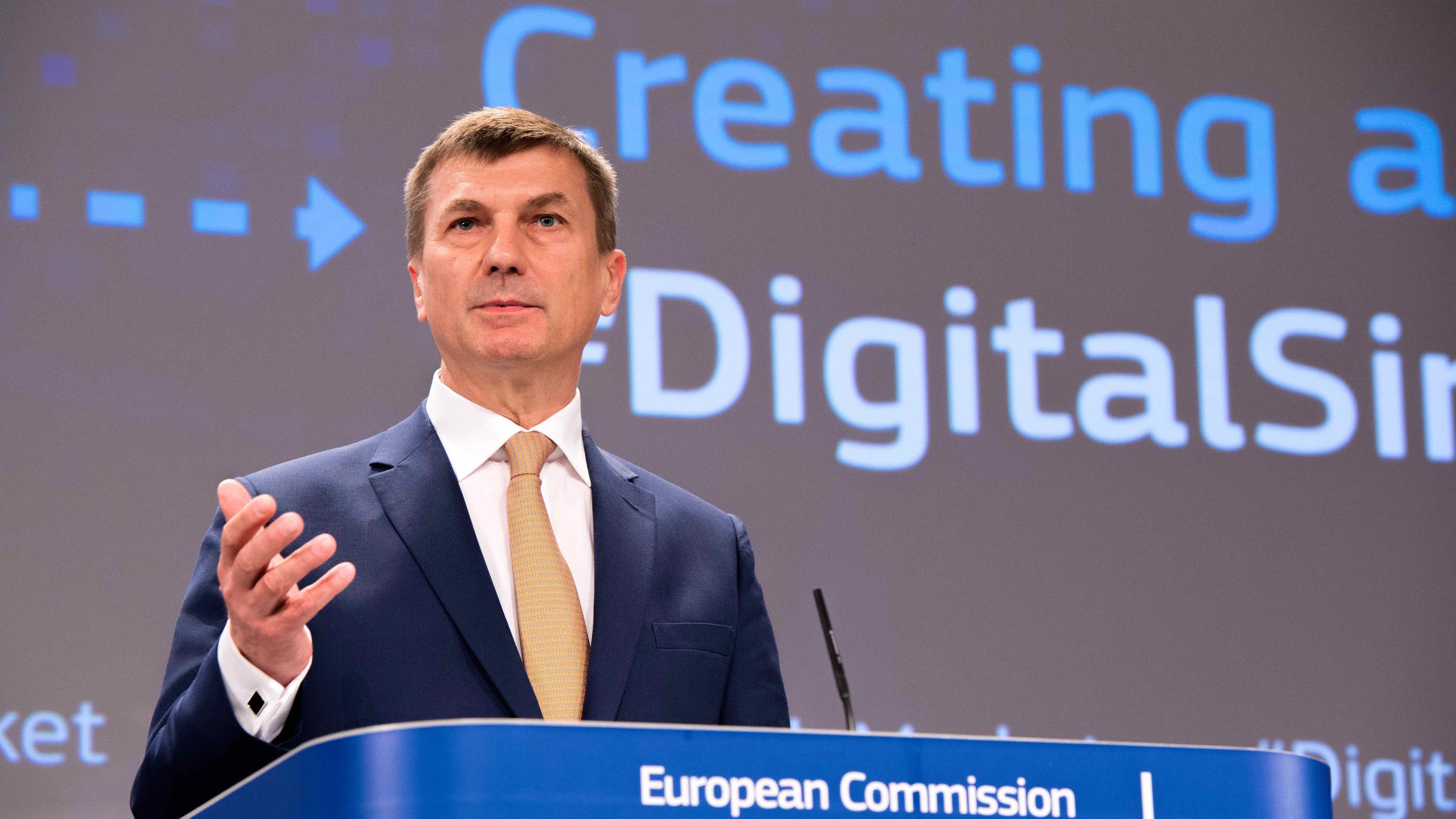 "Andrus Ansip, Leading the Project Team ""Digital Single Market"""